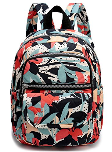 Nylon Small Backpack for Women Waterproof Mini Backpacks Light Outdoor Travel Mini Backpack Purse Cute Backpacks for Teen Girls Daypack for Women