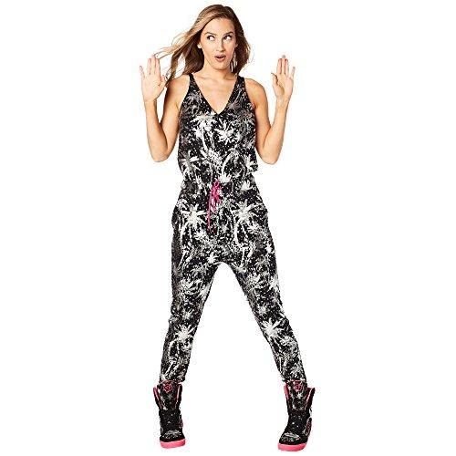 Zumba Fitness® Never Stop Shinin - Mono para Mujer, Mujer, Z1B00657, Back to Black, Extra-Small