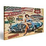 bilderfelix® Bild auf Leinwand Autoreise durch Amerika
