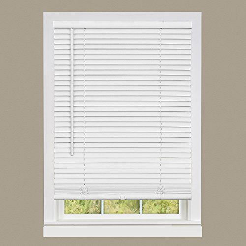 Achim Home Furnishings DSG229WH06 Deluxe Sundown G2 Cordless Blinds, 29 x 64, White