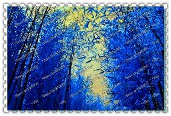 50 pcs / sac rares graines de bambou bleu, jardin décoratif, plante planteur bambu graines d'arbres pour le jardin de la maison diy