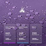Sable Pop Up Beach Tent Purple, Sun Shelter 2 3 Man Tent for Kids Adults Windproof Waterproof and Quick Set-up, with Carry Bag for Outdoor Garden, Camping, Fishing, Picnic 15