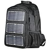 Solar Backpack for Laptops With 10 Watts Solar Panel Charger