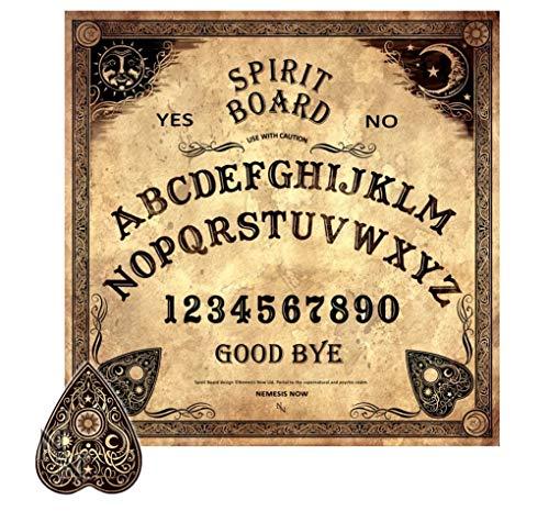 Wahrsagerbrett - Traditionelles Design | Witchboard Quijabrett Hexenbrett Quija Spirit Board