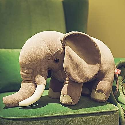 ZSFR Elephant Plush Toys Accompany You Sleep With Pillow Sloty Tondoll Slydoll Doll Sending Girl Birthday Gift Doll 40Cm