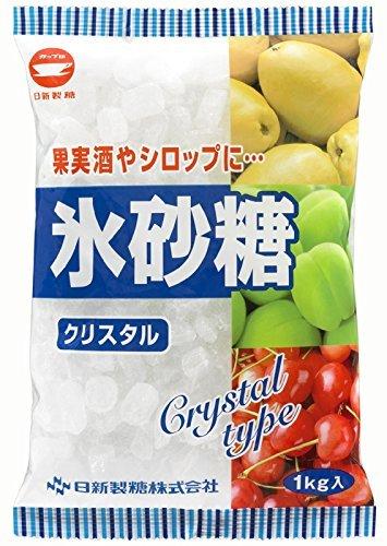 カップ印 日新製糖 氷砂糖 クリスタル 1kg×20袋