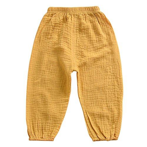 Brightup Brightup 1-5 Jahre Baby Kinder Hosen, Junge Mädchen Frühling Sommer Bottoms Hosen Casual Haremshose
