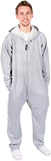 Forever Lazy Heavyweight Adult Onesies | One-Piece Pajama Jumpsuits for Men and Women | Unisex