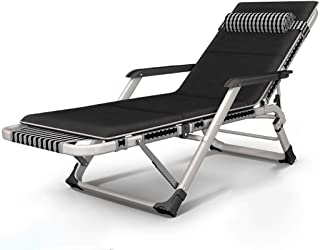 Deck Chair Folding Bed Lounger Camping Bed Portable Travel Recliner Pregnant Woman Backrest Chair Garden Terrace Beach Outdoor Recliner,B