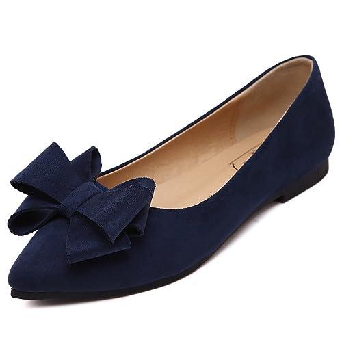 a24c2fea5c3a0 Blue Pointed Shoes: Amazon.com