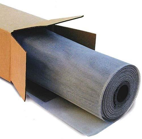 Zanzariera in alluminio rotolo ritagliabile 1 x 30 metri