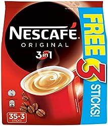 NESCAFÉ Original 3in1 Instant Coffee x 35 + Free 3 Sticks, 38 Count