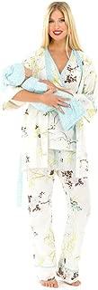 The Olian 5pc. Nursing PJ Set w/ matching Baby Outfit