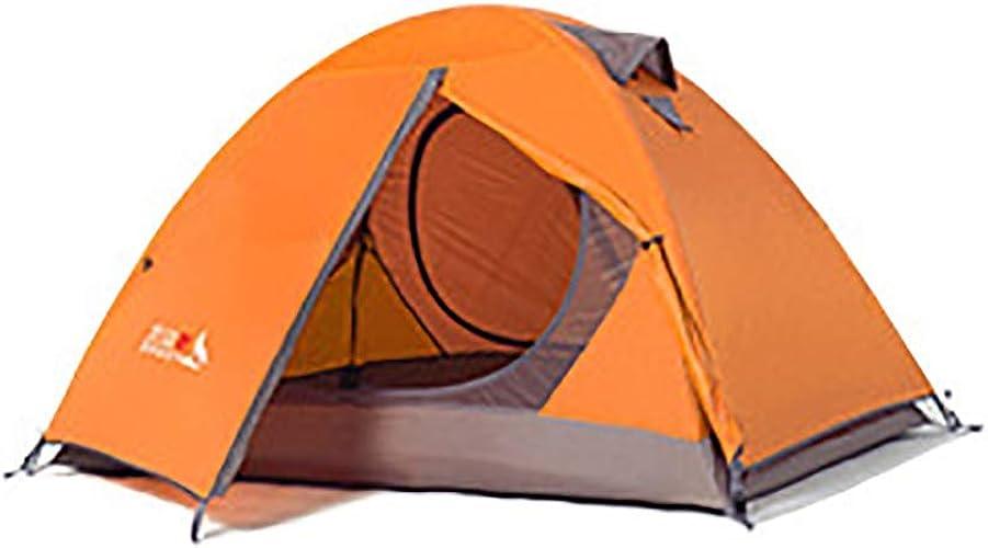 XLST 1-2 Personne Instant Pop Up Extérieur Tente Sky-Window Sun Shelter Famille Randonnée Plage Camping,Orange