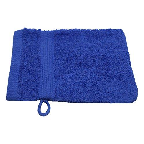 Julie Julsen Waschlappen in 23 Farben erhältlich weich und saugstark 500gsm Öko Tex Royalblau 15 x 21 cm