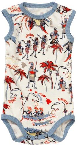 Quiksilver Baby Underwear Tex Summer Body, Bone Freelove, 3 Monate, KRIUW022-006