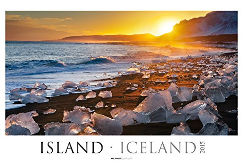 Island 2015 - Iceland - Bildkalender XXL (68 x 46) - Landschaftskalender