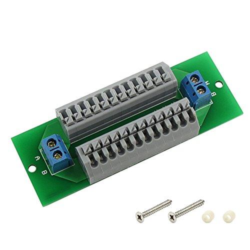 Evemodel Stromverteilungsplatine SV 24+2 FDK mit Federklemmen Schnellanschlußklemmen ohne Schraube PCB008-1-EU