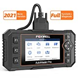 FOXWELL NT624elite Obd2 Scan Tool Automotive All Systems Diagnostic Scanner for Cars with Oil Light & EPB Reset Service, Check ENG ABS SRS SAS Doors EPS HVAC Headlamp Code Reade