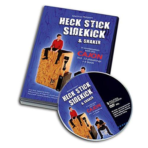 SCHLAGWERK DVD 18 Heck Stick, Side Kick & Shaker mit Cajon (dt./engl.) PAL