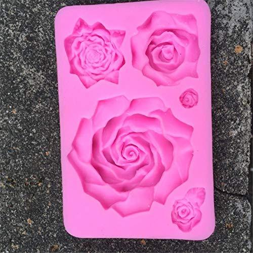 3D-siliconenvorm kaars schimmel bakvormen voor kerst siliconen vormen voor DIY desserts, zeep, chocolade, taartdecoratie