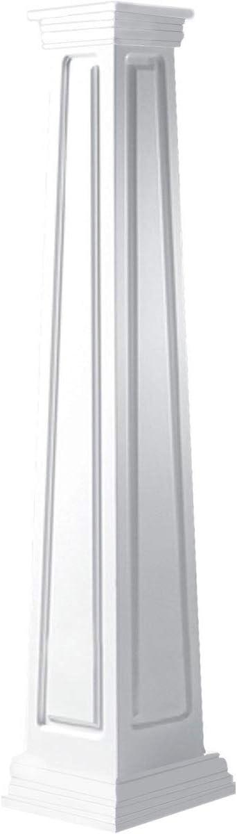 Ekena Millwork CC1204ETRPRPR 4 years warranty Column White Max 44% OFF