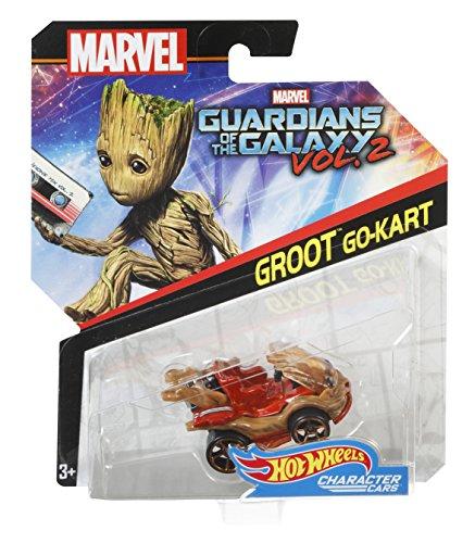 Hot Wheels véhicule Marvel, petite voiture de course, jouet pour enfant, modèle aléatoire, BDM71