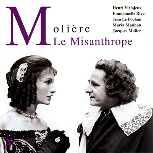 Le Misanthrope Audiobook By Molière cover art
