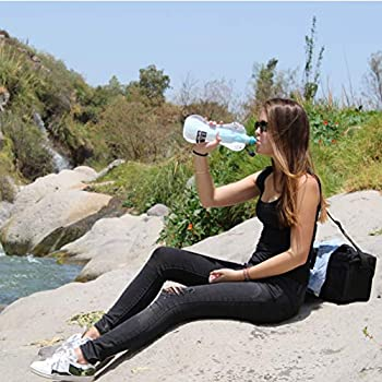 Faircap Mini Portable Water Purifier - Filters 99.99% of bacteria and other pathogens - Ideal for travel, hiking, camping and adventure sports - For 28mm PET bottles.
