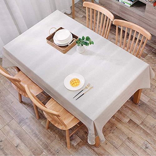 Gcxzb Mantel rectángulo rectángulo mantel de algodón lino arruga libre, gris, pared pared textura imagen áspera bloques oxidado obsoleto estructura hormiga, manteles cubierta de mesa lavable para la c