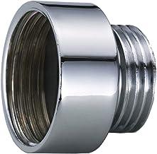 Flexible de douche en acier inoxydable Santrase Tuyau de douche en m/étal chrom/é et aspect acier inoxydable 80 cm avec limiteur de d/ébit
