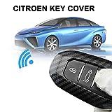 Coque de Protection pour clé de Voiture pour Peugeot 508 2019-2020 3008 5008 pour Citroen C3 C4 C5 pour DS 3 5 7 Accessoires Voiture