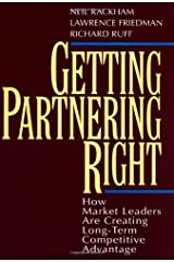 Getting Partnering Right: How Market Leaders Are Creating Long-Term Competitive Advantage Capa dura