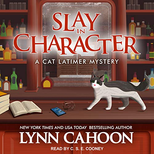 Slay in Character     Cat Latimer Mystery Series, Book 4              By:                                                                                                                                 Lynn Cahoon                               Narrated by:                                                                                                                                 C.S.E. Cooney                      Length: 7 hrs and 17 mins     53 ratings     Overall 4.5