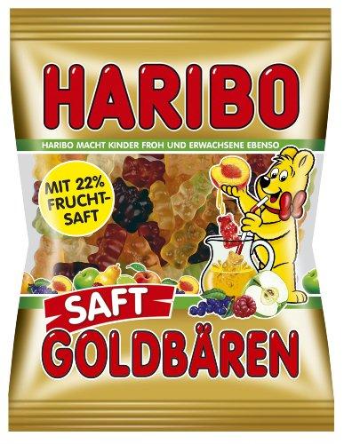 Haribo Saft-Goldbären, 6er Pack (6 x 175 g Beutel)