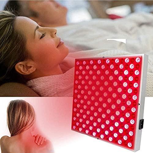 YUnZhonghe Lámpara de luz de calor de belleza roja 45W, rojo 660nm y cerca de calor 850nm bombillas LED, bombillas de masaje de calefacción profunda para reparar el problema de la piel y el alivio del