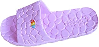 BIBOKAOKE Damessandalen, zomer, platte sandalen, comfortabele partnerlook, antislip, douche-badschoenen, indoorschoenen, t...