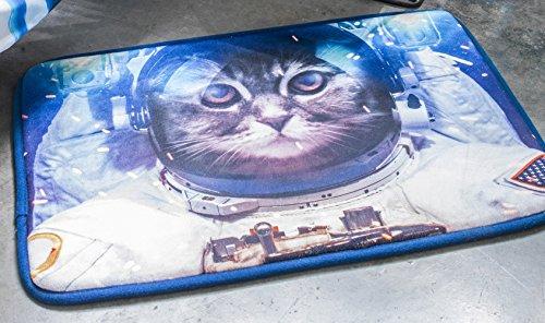 Tapis Velours imprimé 40x60 Astro Cat