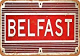 HMS Belfast Vintage Aluminum Metal Signs Tin Plaques Wall