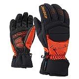 Ziener Kinder LEEDY AS(R) Glove junior Ski-Handschuhe, orange Spice, 4,5