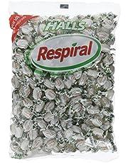 Respiral Caramelos, Sabor Mentol - 1000 gr