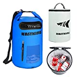 KastKing Soft Sided Cooler/Dry Bag Combo, 100% Waterproof & 100% Leakproof Insulated Cooler, Zero Condensation, Welded Waterproof Seams, Unique Cyclone Seal, Splash-Proof Outer Storage Pocket