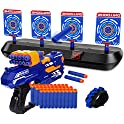 Kovebble Digital Shooting Targets with Foam Dart Toy Shooting Blaster