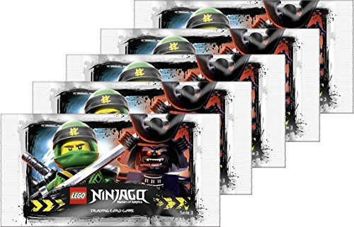 Sammelkarten LEGO Ninjago Serie 3 (5 Booster)