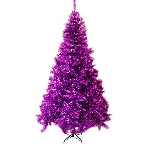 5 Feet Christmas Tree 150cm, Purple Xmas Tree with Metal Stand 300...