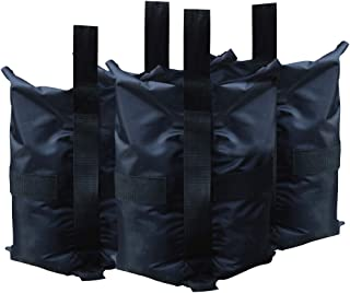 ABCCANOPY Weight Bags Tent Instant Shelters Gazebo Sand Bags 4Pcs, 50lb Capacity per Bag