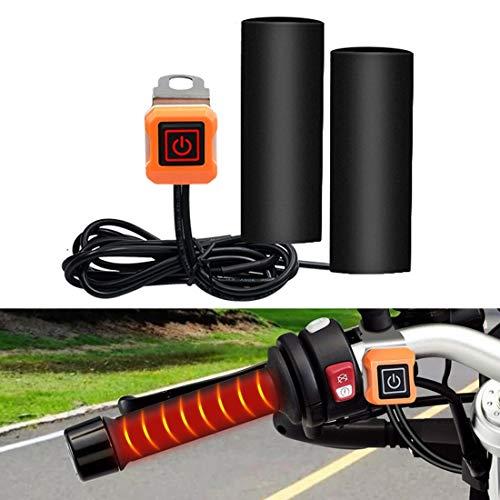 Verwarmde handgrepen voor motorfiets, scooter, smart-drie-versnellingen, temperatuurregeling, elektrische handgreep, verwarmd handvat, stuur voor motorfiets