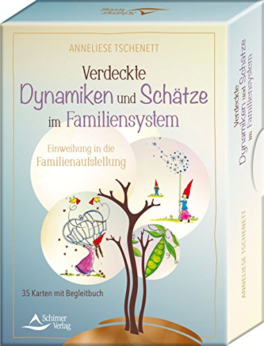 Verdeckte Dynamiken und Schätze im Familiensystem: Einweihung in die Familienaufstellung - 35 Karten mit Begleitbuch