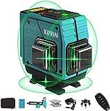 Livello Laser Autolivellante 40M, 3x360° Linea Laser Verde a Croce, Modalità Impulso Livelli Laser...