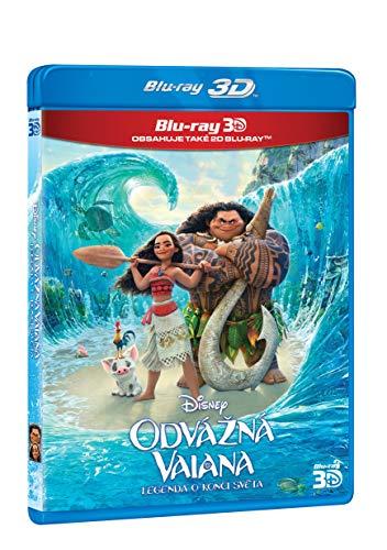 Odvazna Vaiana: Legenda o konci sveta 2BD (3D+2D) / Moana (Tschechische Version)